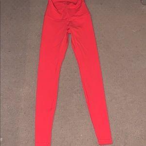 Lululemon Womens Orange Leggings. Size 4. Worn 1x